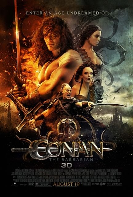 """The Film Summer programming continues this week with the films """"Bad Teacher"""" and """"Conan"""""""
