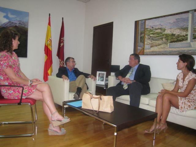 La Consejería de Presidencia apoyará los proyectos de La Unión - 1, Foto 1