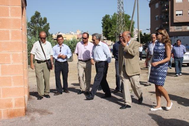 Cerdá inaugura las obras de acondicionamiento de la acequia de Los Charcos en Cieza - 1, Foto 1