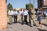 Cerdá inaugura las obras de acondicionamiento de la acequia de Los Charcos en Cieza