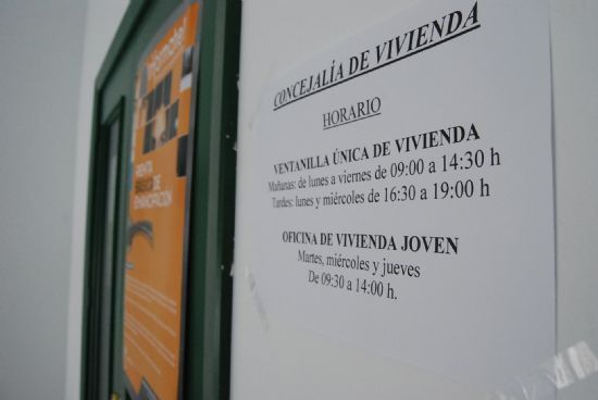 The Department of Housing has received a total of 554 visits during the first seven months of 2011