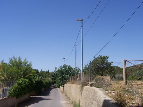 Totana carried out a drastic energy saving campaign in street lighting and municipal