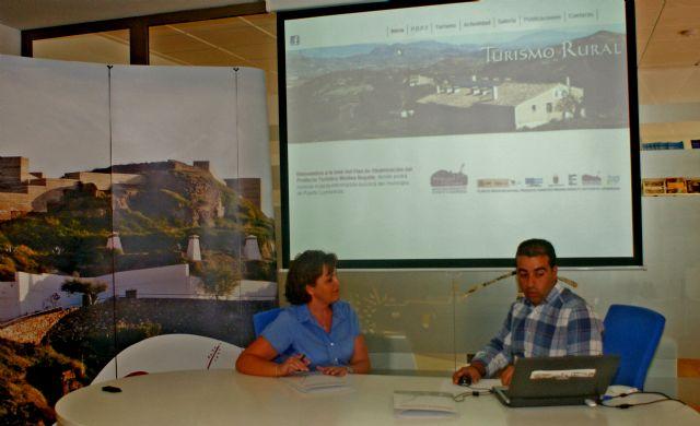 Puerto Lumbreras presenta una nueva página web con la que se promocionarán las ofertas turísticas del municipio - 1, Foto 1