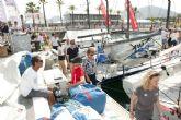 Visitantes y regatistas de la Audi Med Cup atracan en Cartagena
