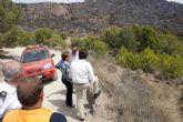 Las administraciones dan prácticamente por extinguido el incendio de Atamaría