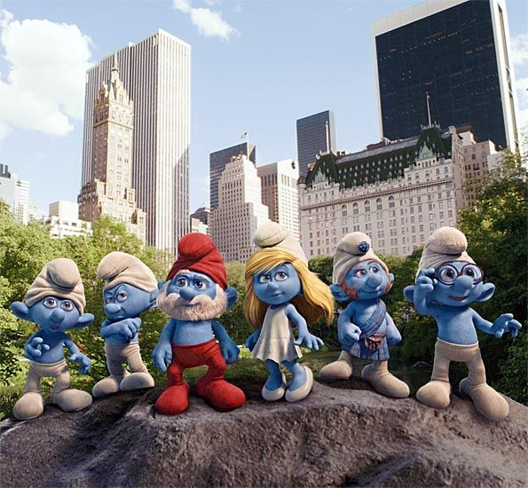 """The Summer Film continues this week with the films """"The Smurfs in 3D"""" and """"Transformers"""""""