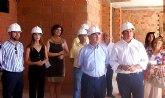 El consejero Campos visita las obras del nuevo Ayuntamiento de Puerto Lumbreras
