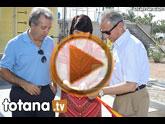La estación depuradora de aguas residuales de Totana consigue depurar 9.000 metros cúbicos al día de agua de 'calidad' para el regadío