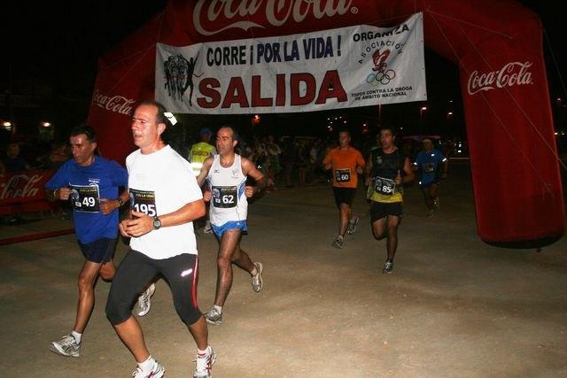 Alta participación en la carrera nocturna Por la vida - 1, Foto 1