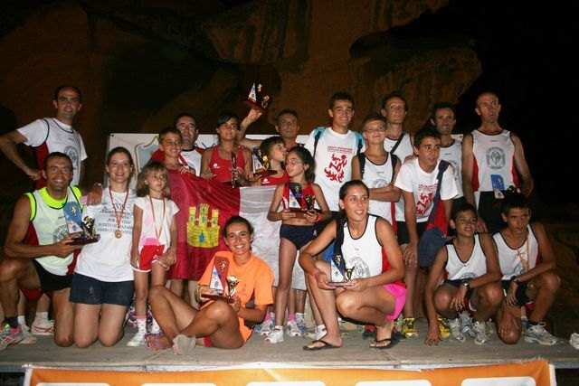 Alta participación en la carrera nocturna Por la vida - 2, Foto 2