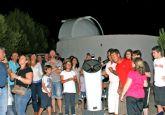 Más de 3.000 personas participaron durante julio y agosto en la campaña 'Conoce las Estrellas' del Observatorio Astronómico de Puerto Lumbreras