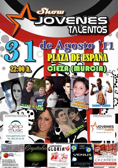 Jóvenes Talentos pone el broche final a las fiestas de Cieza - 1, Foto 1