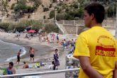 La temporada alta en las playas acaba con menos rescates a bañistas