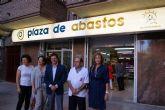 Jódar inaugura la nueva Plaza de Abastos de Lorca en los bajos del antiguo supermercado Mediterráneo de la Alameda de Cervantes número 3