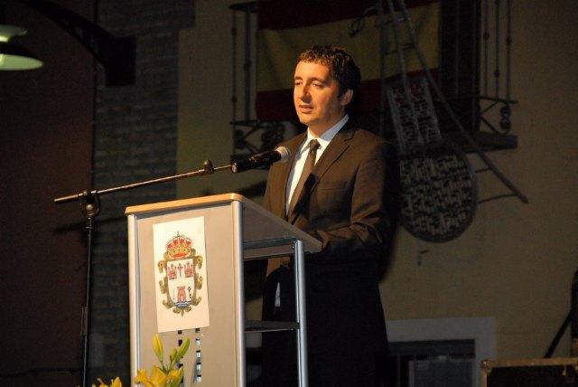 Cruz destaca en el pregón de las fiestas de Pliego la feliz síntesis entre lo tradicional y lo novedoso - 1, Foto 1