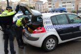 La Policía Local de Totana localiza a una persona que atropelló a una joven herida de gravedad, el cual ya ha sido detenido por la Guardia Civil