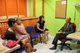 La alcaldesa y la concejal de Atenci�n Social se re�nen con el representante en España de la Secretar�a Nacional del Migrante