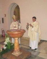 D. Antonio Ballester toma posesión de la parroquia de Ntra. Sra. del Rosario de Santomera