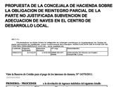 IU-verdes denuncia que el Ayuntamiento ha tenido que devolver a la Comunidad Aut�noma, en agosto, casi 20.000 € de subvenciones en materia de empleo