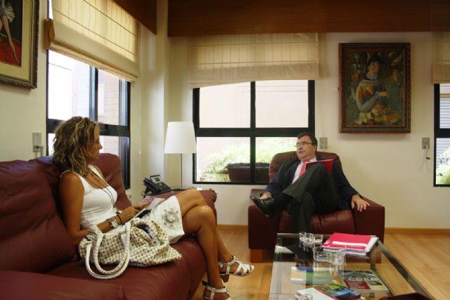 Entrevista Alcaldesa Archena – Consejero José Ballesta, esta mañana - 1, Foto 1
