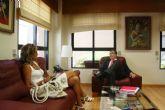 Entrevista Alcaldesa Archena - Consejero José Ballesta, esta mañana