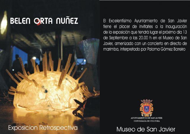 Belén Orta lleva a cabo una exposición retrospectiva en el Museo de San Javier que sigue apostando por el arte contemporáneo - 1, Foto 1