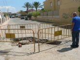 El ayuntamiento acomete mejoras en Ordenaci�n Bah�a para evitar inundaciones