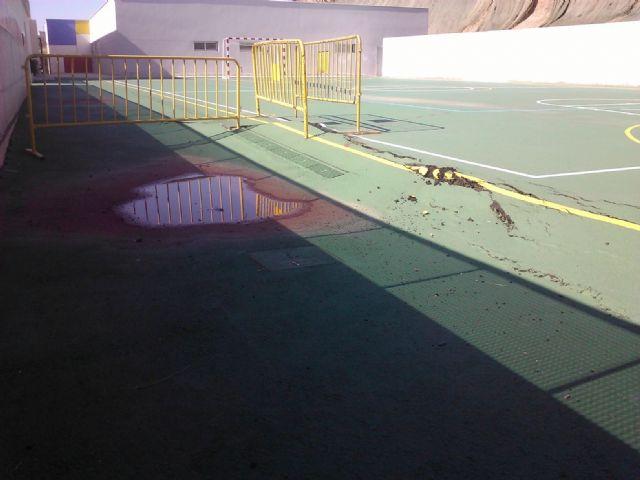 EL PSOE detecta graves deficiencias en la construcción del nuevo Colegio Público Sagrado Corazón - 1, Foto 1