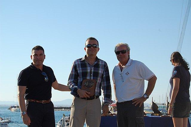 El alcalde y los concejales de Turismo, y Deportes apoyaron con su presencia el I Open J80 celebrado con enorme éxito en aguas de La Manga - 1, Foto 1