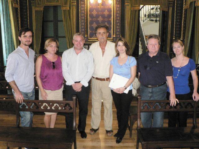 Pedro Cano visita Mazarrón para preparar un proyecto expositivo - 1, Foto 1