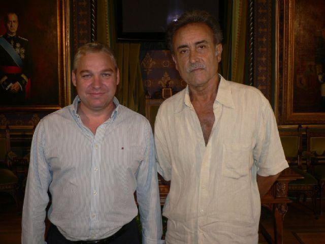 Pedro Cano visita Mazarrón para preparar un proyecto expositivo - 2, Foto 2