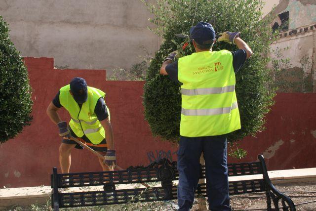 El ayuntamiento aumenta su plantilla para mejorar los servicios de  albañilería y jardinería en la modalidad de colaboración social - 2, Foto 2