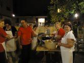 Afesmo abre su puesto de buñuelos solidarios con motivo de las Fiestas Patronales de Molina de Segura
