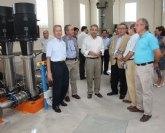 El sistema general de saneamiento de Molina-Norte entra en servicio con cuatro colectores