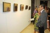 Inaugurada la exposición de Lola Estrada en Torre-Pacheco