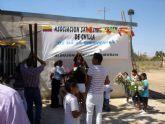 Los ecuatorianos de El Albujón honraron a su patrona la Virgen de Chilla