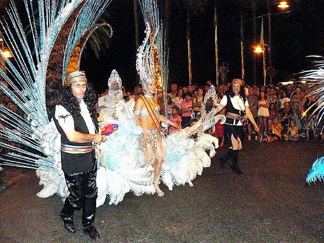 Reina del Carnaval de Santiago de la Ribera 2011 en el desfile del I Carnaval de Verano que se celebró el pasado mes de agosto en Santiago de la Ribera, Foto 1