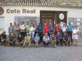 Cerca de una treintena de senderistas inician en la Sierra de Burete (Cehegín) el programa de senderismo impulsado por la concejalía de Deportes