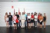 El alcalde de Torre-Pacheco recibe a los 12 trabajadores del Programa de Empleo Público Local