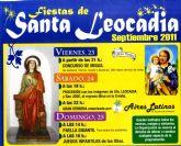 Las fiestas de Santa Leocadia se celebran este fin de semana en la diputación de La Sierra