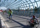 Puerto Lumbreras acogerá el próximo domingo el II Criterium de Ciclismo Adaptado