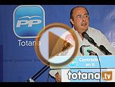 Ignacio Gil Lázaro, diputado nacional y azote político de Rubalcaba en el 'Caso Faisán', presidió la jornada de convivencia del PP de Totana