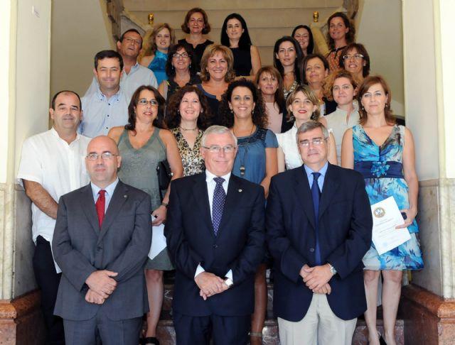 28 funcionarios de la Universidad de Murcia tomaron posesión de sus plazas - 2, Foto 2