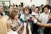La alcaldesa de Cartagena confía en que Sacyr mantenga la españolidad de Repsol