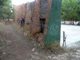El Grupo Socialista lamenta el estado de abandono de la zona de El Valle Perdido y de las instalaciones deportivas anexas