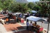 Gran afluencia de público en el 'Mercadillo Artesano' de La Santa