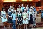 Recepción a ocho profesoras de intercambio con el Colegio El Taller