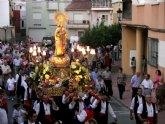 La Patrona de Archena vuelve a visitar la población para celebrar un Octavario en su honor