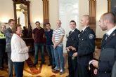 La alcaldesa felicita a los policías y bomberos que compitieron en las Olimpiadas de Nueva York
