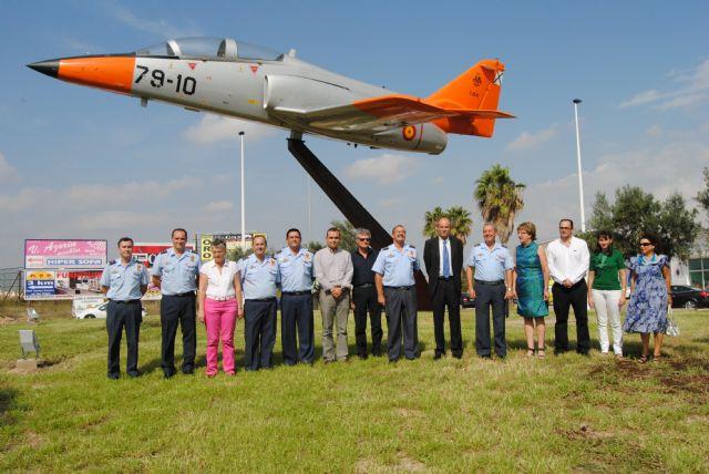 Un avión C-101 como símbolo de los vínculos entre la AGA y San Javier - 1, Foto 1